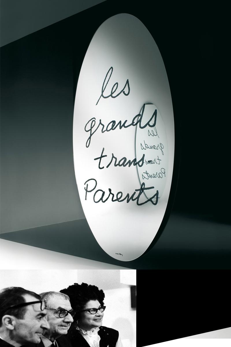 Man Ray, Mirror-les-grands-trans-parents, SimonCollezione